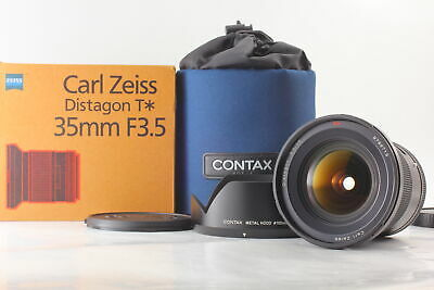 $ CDN1813.79 • Buy [UNUSED BOXED] Carl Zeiss Distagon T* 35mm F3.5 Lens Contax 645 Hood From JAPAN
