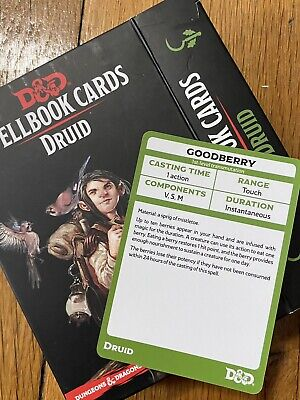 AU15.30 • Buy Dungeons And Dragons Druid Spell Card Collection