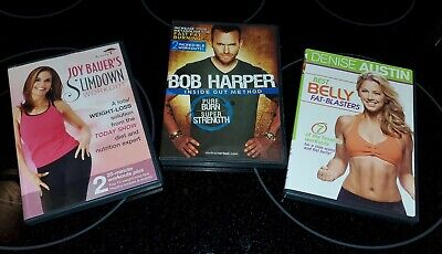 Bob Harper Inside Out - Belly Fat Blasters Workouts For Weight Loss (lot Of 3) • 2.13£