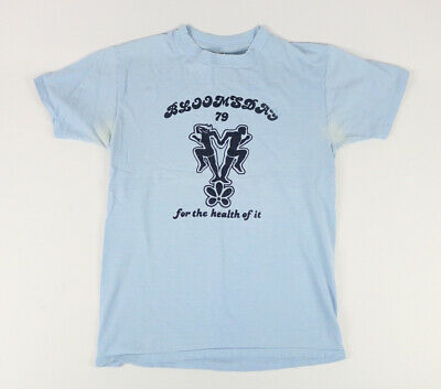 $ CDN18.19 • Buy Vintage 1979 Distressed Bloomsday Race Finisher T-Shirt Large Made In USA 70s