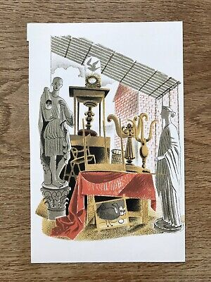 £15 • Buy Eric Ravilious Second-hand Furniture & Effects High Street Print J M Richards