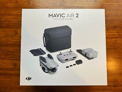 AU435 • Buy DJI Mavic Air 2 Fly More Combo 4K Drone + Extra Freewell ND Filters