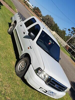 AU3500 • Buy 2004 Ford Courier Dual Cab Ute