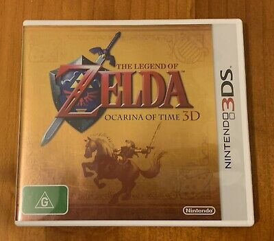 AU5 • Buy The Legend Of Zelda Ocarina Of Time 3ds | Case Only | Excellent Condition