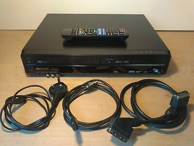 £175 • Buy Panasonic DMR EZ49V VHS Video DVD Combi Recorder Freeview - With Remote & Cables