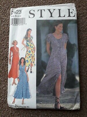 £5.60 • Buy Style Sewing Pattern 2423 Ladies Dress (size 6 - 16)