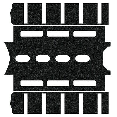 $12.50 • Buy Tractiongrips Rubber Grip Tape Fits Magpul Forend For US Made 5.56 Carbine