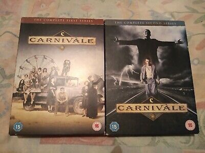 CARNIVALE - The Complete Series 1 & 2 (DVD, 12-Disc Set). • 9.99£