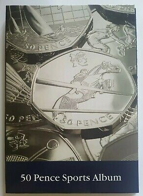 2011 Full Set Of 29 UK Olympics Fifty Pence 50p Coins In Collector's Album • 109.99£