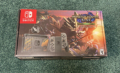 $ CDN574.35 • Buy Nintendo Switch Console Monster Hunter Rise Deluxe Edition Free Ship In Hand