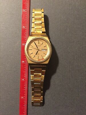 $ CDN18.14 • Buy Vintage Mens Seiko Alarm Quartz Wristwatch Watch