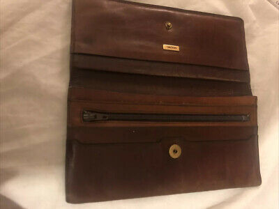 AU16 • Buy OROTON - VINTAGE Tan Leather Ladies SiNGLE FOLD WALLET