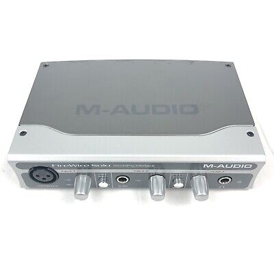 $19.99 • Buy M-Audio FireWire Solo Recording Interface *Untested (No Power Cable)*