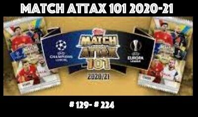 £1.45 • Buy Topps Match Attax 101 2020-2021 2020/21 Shiny Choose Your Cards 129-224