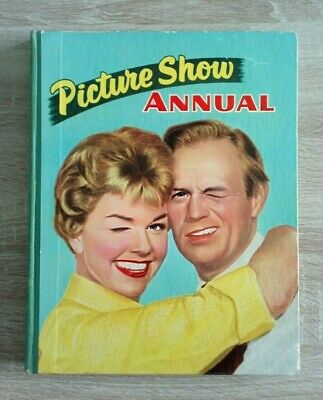 £10 • Buy Picture Show Annual 1959 Vintage Cinema/Pictures/Film/Movies Hardback Book
