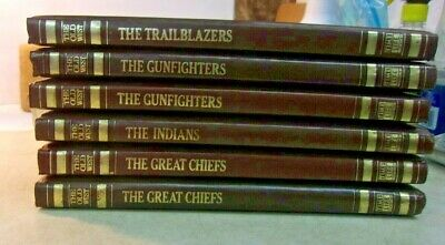 £25.55 • Buy Vintage Time-Life Books THE OLD WEST Leatherette - 6 Volumes, Unread Condition