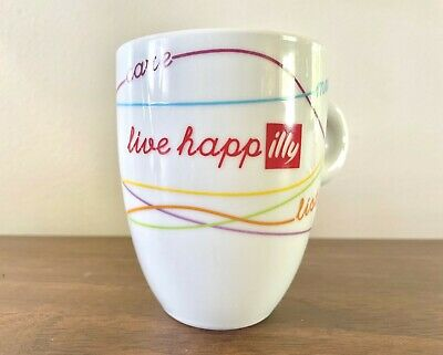 £32.20 • Buy Live Happ Illy Mug 2006 Illy Live Happilly Coffee Cup Illy Cappuccino Cup
