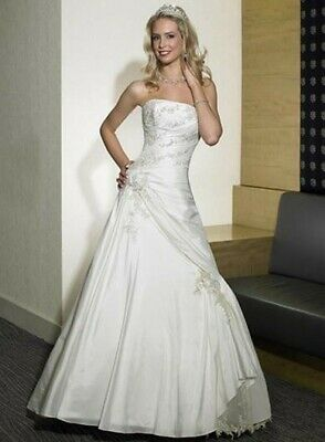 £100 • Buy Maggie Sottero Wedding Dress - Size 14 With Certificate