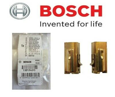 £14.95 • Buy BOSCH Genuine Carbon Brushes (To Fit: GSB 1600 & GSB 1600RE Drills) (2607014013)