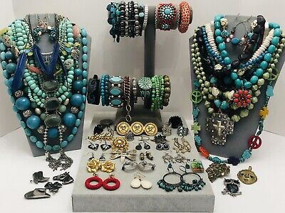 $ CDN27.30 • Buy Huge Vintage To Now Jewelry Lot - Estate Find - All Wearable Pieces - 6 Lbs +