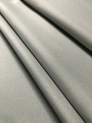 £0.99 • Buy Premium Quality Light Grey Madrid Water Resistant Outdoor Seating Fabric