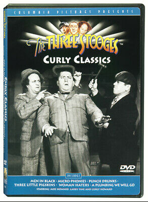 £2.61 • Buy The Three Stooges: Curly Classics (DVD)