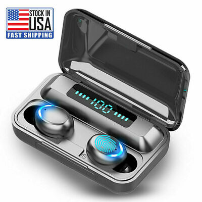 $ CDN19.40 • Buy Bluetooth Earbuds For Iphone Samsung Android Wireless Earphone IPX7 WaterProof