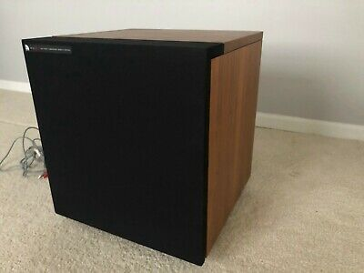 $75 • Buy Vintage Audio Pro Ace Bass B2-50 MK 2 Subwoofer Walnut LOCAL PICKUP ONLY