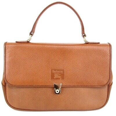 $ CDN118.54 • Buy Authentic BURBERRYS One Handle Handbag Leather[Used]