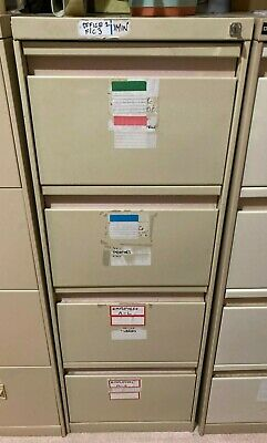 AU20 • Buy 4 Drawer Filing Cabinet (lockable With Key) In Good Condition