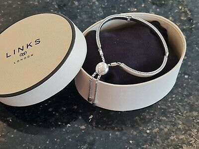 £35.15 • Buy Links Of London Narrative Bracelet, Excellent Condition & Hallmarked, Was £160