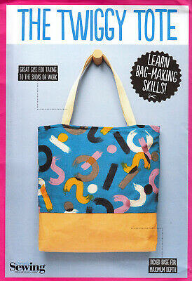 £4.99 • Buy Sewing Pattern Simply Sewing Twiggy Tote Bag Boxed Base Uncut M5a