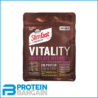 £11.45 • Buy Slimfast Vitality Powder - 400g - Low Calorie Meal Replacement - Aid Weight Loss