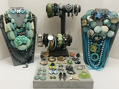 $ CDN9.10 • Buy Huge Vintage To Now Jewelry Lot - Estate Find - All Wearable Pieces - 4 Lbs +