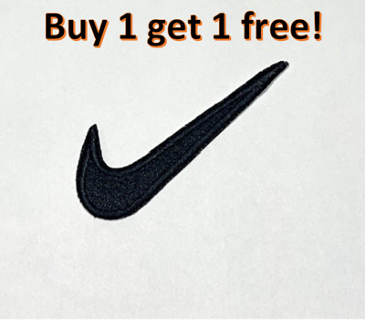 £1.90 • Buy Sports Badge Logo Nike Black Embroidered Sew Or Iron On Patch New Great Quality