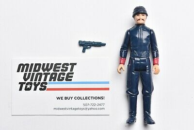 $ CDN6.65 • Buy Vintage Star Wars - ACTION FIGURE -  WHITE BESPIN SECURITY GUARD - Kenner