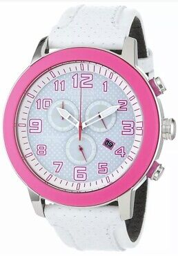 $ CDN212.30 • Buy Citizen Women's White Leather Strap Eco- Drive Chronograph Watch AT2230-03A