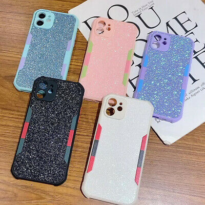 AU7.24 • Buy Glitter Anti-slip Protect Phone Case For IPhone 12 11 Pro Max XR XS 7 8 SE 2020