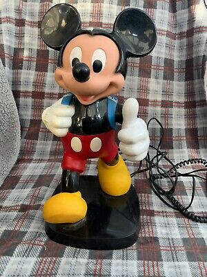 £25 • Buy Vintage Disney Mickey Mouse Backpack Phone By TYCO (ringer Not Working)