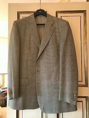 £70 • Buy Canali Mens Lightweight Sports Jacket Size 56 (XL) Made In Italy