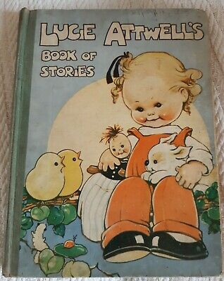£4 • Buy Lucie Atwell's Vintage Book. Well Used Yet Beautiful Book Of Stories. Children's