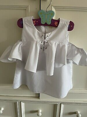 £0.99 • Buy Zara Girls White Top Age 11/12 Years 152 Cms Excellent Condition