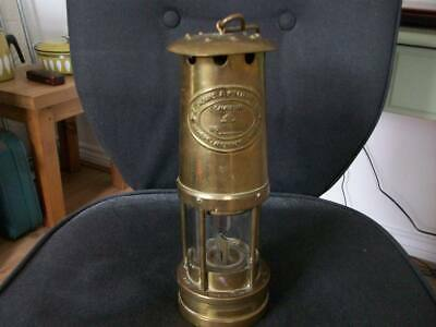 £51 • Buy E. Thomas & Williams Welsh Miners Lamp No.73737.