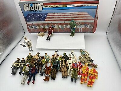 $ CDN104.06 • Buy 1980's Vintage GI Joe Action Figure Lot Of 26 ARAH With Carrying Case NO RESERVE