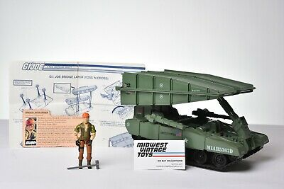 $ CDN55.66 • Buy Vintage GI JOE - VEHICLE 1985 Bridge Layer W/ Tollbooth 100% Complete HASBRO