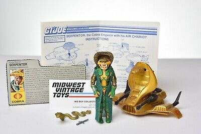 $ CDN60.50 • Buy Vintage GI JOE VEHICLE 1986 Air Chariot W/ Serpentor 100% Complete HASBRO