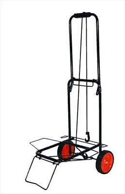£13.95 • Buy Folding Lightweight Luggage Cart Trolley With Bungee Cord Strong Up To 50 Kg