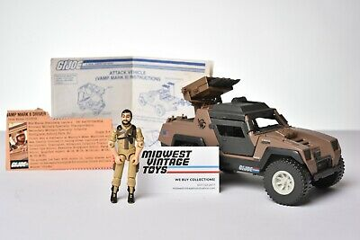$ CDN77.44 • Buy Vintage GI JOE VEHICLE 1984 Vamp Mark II W/ Driver Clutch - HASBRO