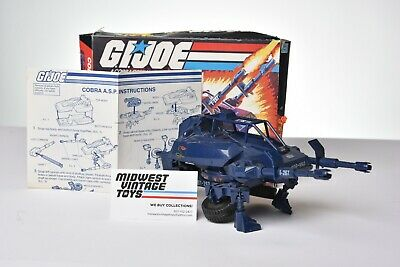 $ CDN24.20 • Buy Vintage GI JOE - VEHICLE 1984 COBRA ASP 100% COMPLETE - HASBRO