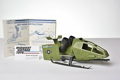 $ CDN17.40 • Buy Vintage GI JOE - VEHICLE 1984 SKY HAWK 100% COMPLETE - HASBRO